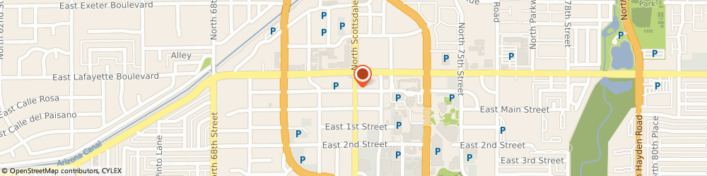 Route/map/directions to Starbucks Corporation, 85251 Scottsdale, 4032 N. Scottsdale Road