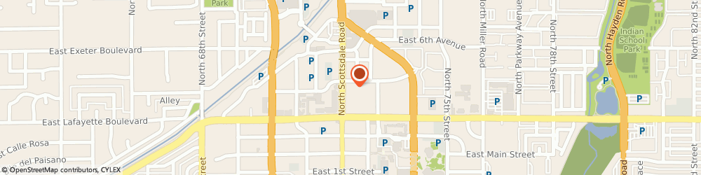Route/map/directions to Atm Great Western Bank, 85251 Scottsdale, 4167 N Scottsdale Rd