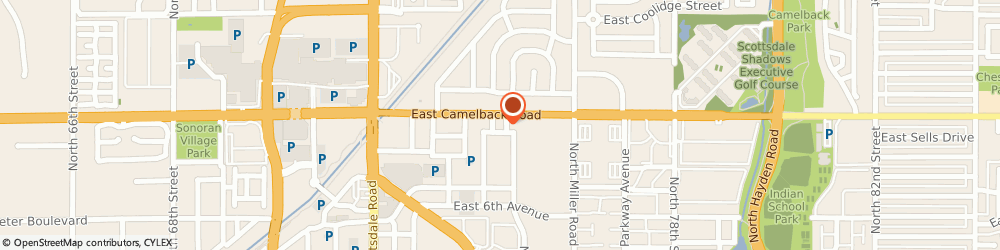 Route/map/directions to Atm Great Western Bank, 85251 Scottsdale, 7401 E Camelback Rd