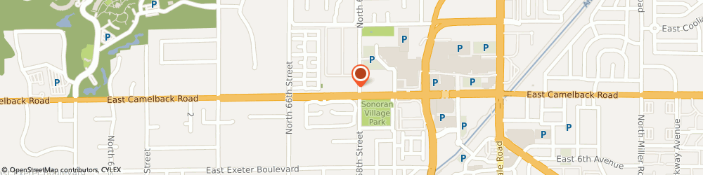 Route/map/directions to Atm Great Western Bank, 85251 Scottsdale, 6770 E Camelback Rd