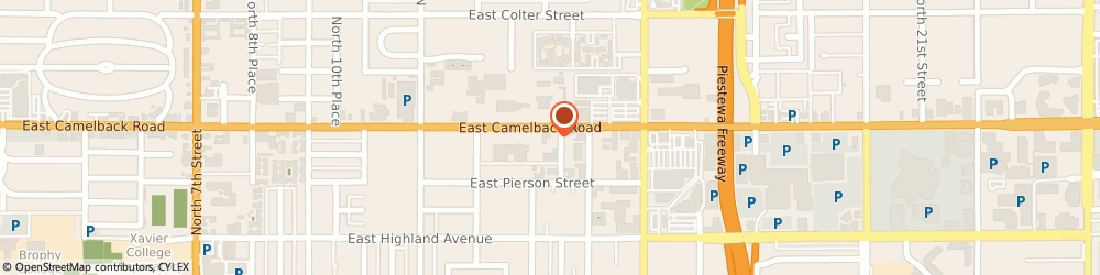 Route/map/directions to Camelback World Auto, 85014 Phoenix, 1405 E Camelback Rd