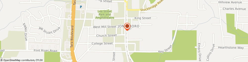 Route/map/directions to American National Insurance Co, 30236 Jonesboro, 122 S MAIN ST
