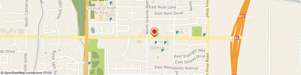 Route/map/directions to Atm Great Western Bank, 85250 Scottsdale, 8423 E Mcdonald Dr