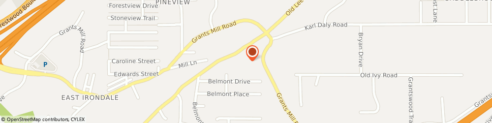 Route/map/directions to ETERNAL Word Television Ntwrk, 35210 Birmingham, 5817 OLD LEEDS RD