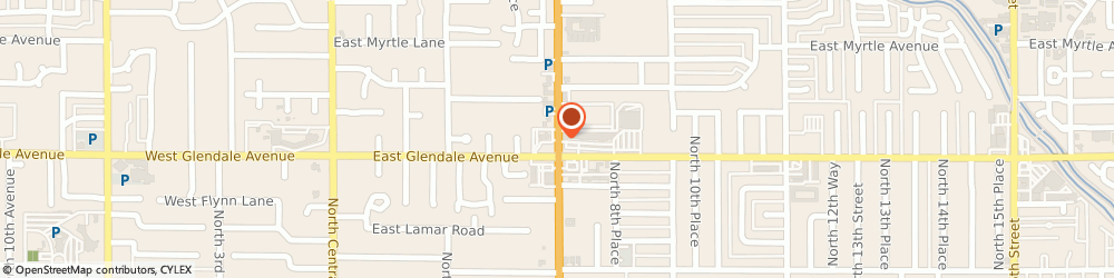 Route/map/directions to Chase, 85020 Phoenix, 7022 N 7TH STREET