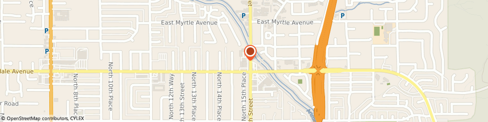 Route/map/directions to The UPS Store, 85020 Phoenix, 7000 N 16th St