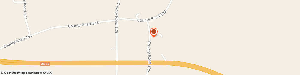 Route/map/directions to U-Haul Co., 39744 Eupora, 307 Vance Rd