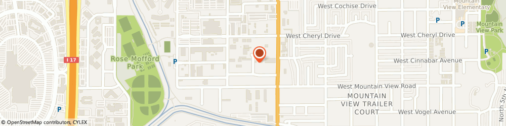 Route/map/directions to A2Z Web Pros, 85021 Phoenix, 9850 N 19th Dr #6a