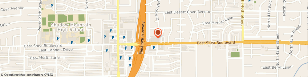 Route/map/directions to Asser Law Group, 85028 Phoenix, 3420 E. Shea Blvd. #200