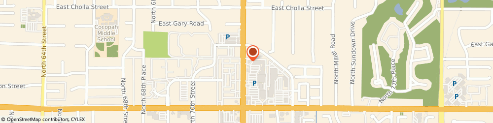 Route/map/directions to Atm Great Western Bank, 85254 Scottsdale, 10921 N Scottsdale Rd