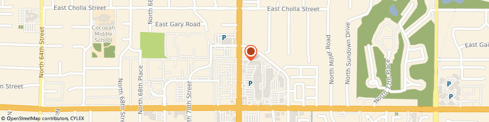Route/map/directions to Wells Fargo Bank, 85254 Scottsdale, 10921 N Scottsdale Rd
