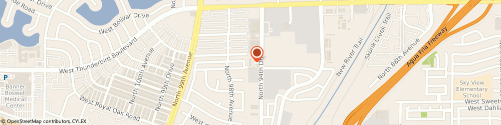 Route/map/directions to Safeco Insurance Agent, 85381-4826 Peoria, 13350 N 94Th Dr Ste B