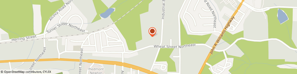 Route/map/directions to Vulcan Materials, 30014 Covington, 7143 Wheat Street Ne