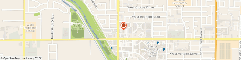 Route/map/directions to Dunkin', 85306 Glendale, 13887 N 59th Ave
