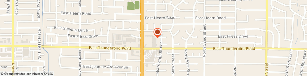 Route/map/directions to The UPS Store, 85032 Phoenix, 13835 N Tatum Blvd