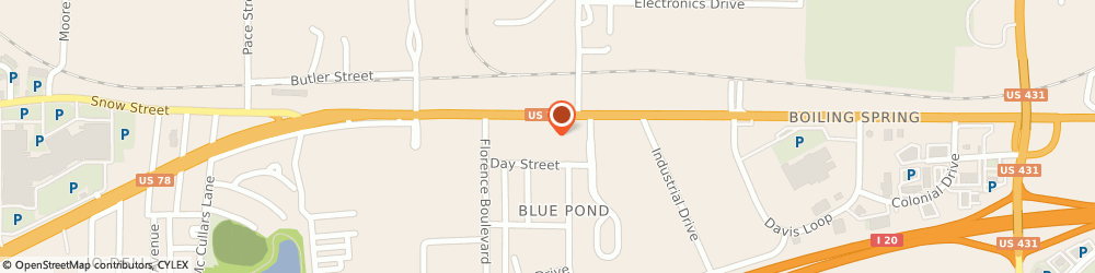 Route/map/directions to DIRECT GENERAL, 36203 Oxford, 1716 Hamric Drive, Ste 2