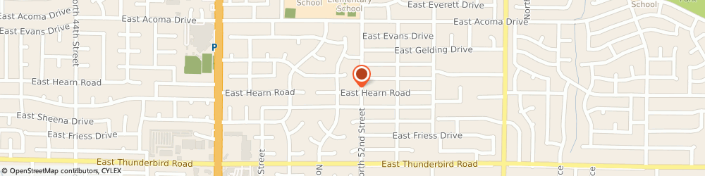Route/map/directions to J & J REFRIGERATION HTG & AC, 85254 Scottsdale, 5120 E. Hearn Rd