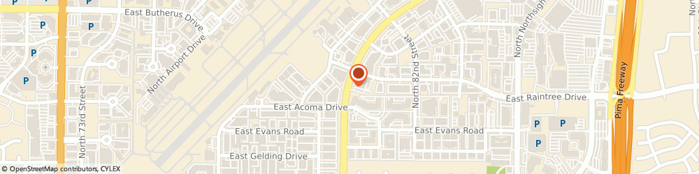 Route/map/directions to Atm Great Western Bank, 85260 Scottsdale, 14555 N Hayden Rd
