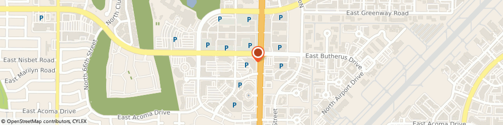 Route/map/directions to Atm Great Western Bank, 85254 Scottsdale, 14850 N Scottsdale Roa
