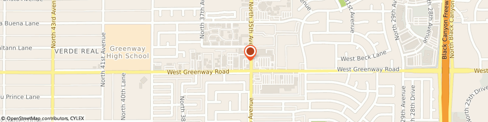 Route/map/directions to Crazy Otto's, 85053 Phoenix, 3502 W GREENWAY RD