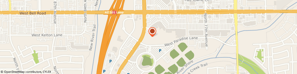 Route/map/directions to LA QUINTA Peoria, 85382 Peoria, 16321 North 83Rd Ave