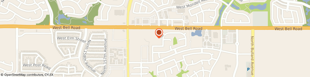 Route/map/directions to Fowler Insurance Agency, 85374 Surprise, 15331 West Bell Road