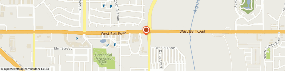 Route/map/directions to Kaufman Insurance Agency, 85378 Surprise, 12301 West Bell Road