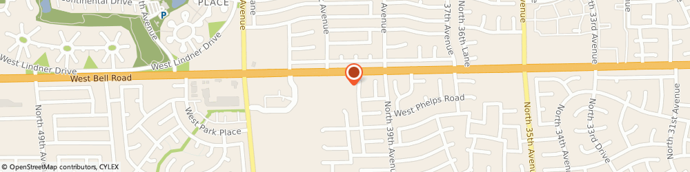 Route/map/directions to United Drugs, 85053 Phoenix, 4025 WEST BELL ROAD SUITE 1A