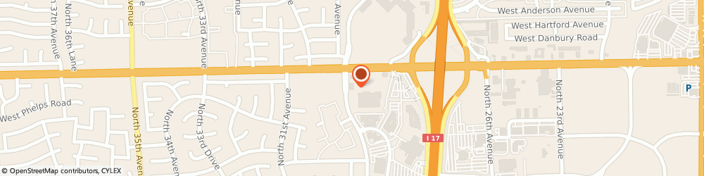 Route/map/directions to The UPS Store, 85053 Phoenix, 16845 N 29th Ave