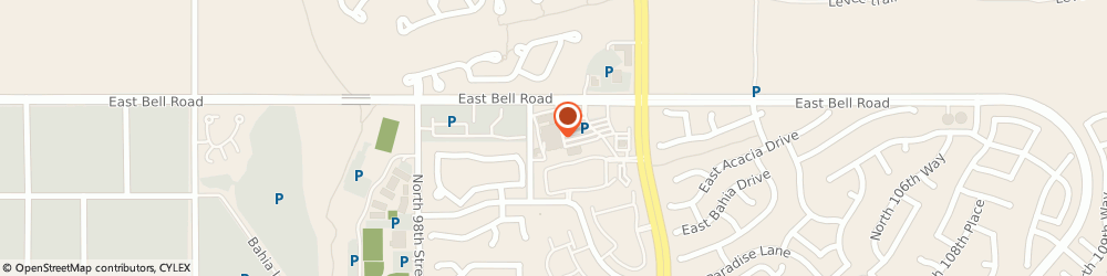 Route/map/directions to Wells Fargo Bank, 85260 Scottsdale, 10111 E Bell Rd