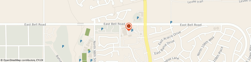 Route/map/directions to Atm Great Western Bank, 85260 Scottsdale, 10111 E Bell Rd