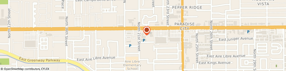 Route/map/directions to 21 Bell Kia, 85022 Phoenix, 2121 E BELL RD