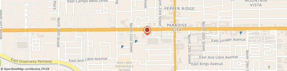 Route/map/directions to Luxury Motorsports, 85022 Phoenix, 2141 East Bell Road