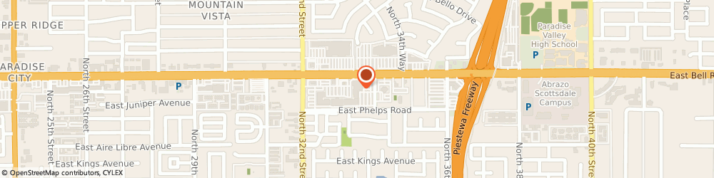 Route/map/directions to Wells Fargo PHOENIX, 85032 Phoenix, 3329 E Bell Rd