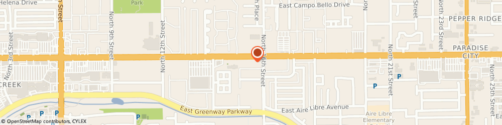 Route/map/directions to Drivetime Car Sales - Phoenix, 85022 Phoenix, 1515 East Bell Road
