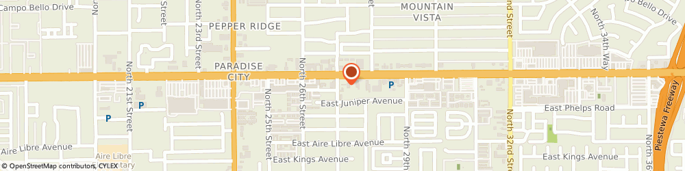 Route/map/directions to Matco Investments, 85032 Phoenix, 2701 EAST BELL ROAD