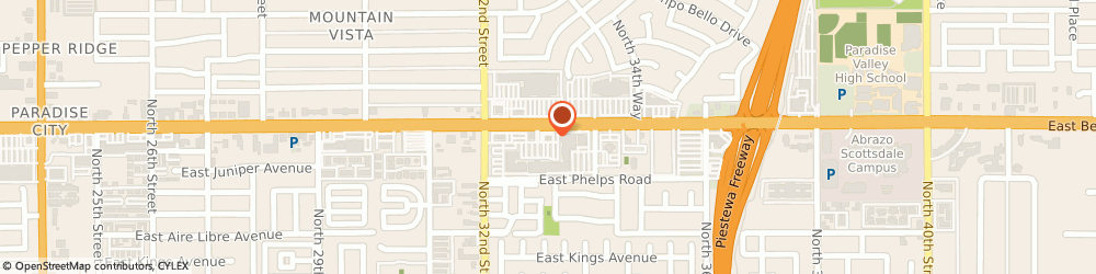 Route/map/directions to The UPS Store, 85032 Phoenix, 3317 E Bell Rd