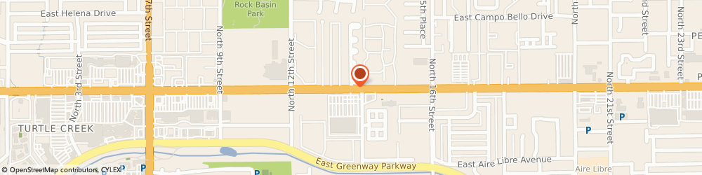Route/map/directions to Earnhardt Kia, 85022 Phoenix, 2121 E. Bell Road