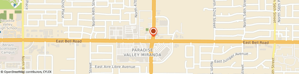 Route/map/directions to Wells Fargo Bank, 85032 Phoenix, 4750 E Bell Rd