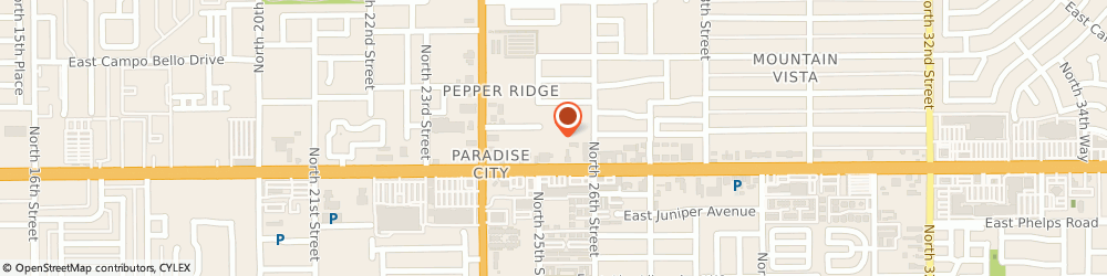 Route/map/directions to Ez Own Auto Source, 85032 Phoenix, 2510 E. Bell Rd