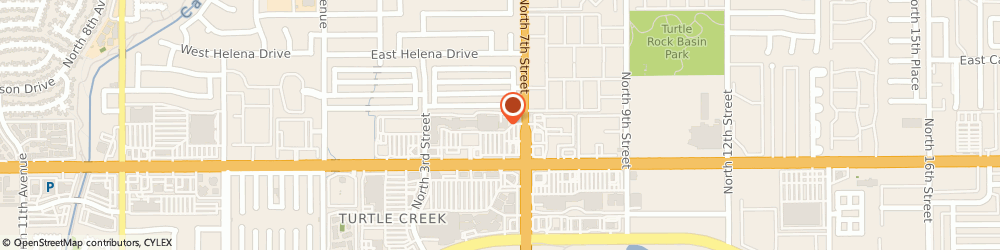 Route/map/directions to The UPS Store, 85022 Phoenix, 610 E Bell Rd