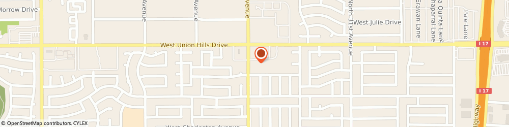 Route/map/directions to Brakes Plus Phoenix Union Hills, 85053 Phoenix, 18415 N 35Th Ave