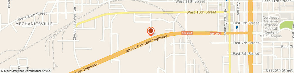 Route/map/directions to BP, 36201 Anniston, 851 Lagarde Avenue