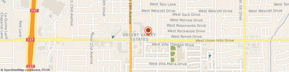 Route/map/directions to The UPS Store, 85027 Phoenix, 18631 North 19th Ave