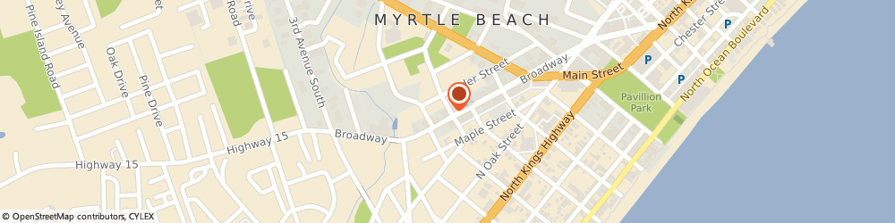 Route/map/directions to STATE FARM Wade Davis, 29577 Myrtle Beach, 321 Broadway St.