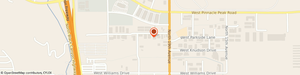 Route/map/directions to Rc Auto Corp, 85027 Phoenix, 2001 W PARKSIDE LANE