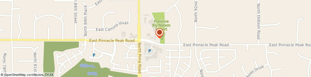 Route/map/directions to Starbucks Coffee Co, 85255 Scottsdale, 8912 E. Pinnacle Peak Road