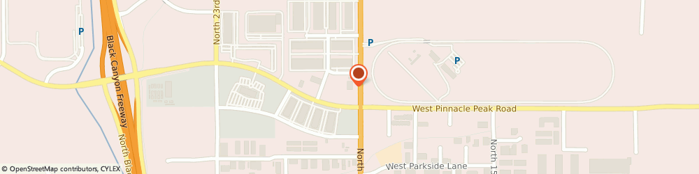 Route/map/directions to VyonCloud, 85027 Phoenix, 23460 N. 19th Avenue, Suite 150