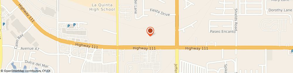 Route/map/directions to Subway, 92253 La Quinta, 79-740 Highway 111