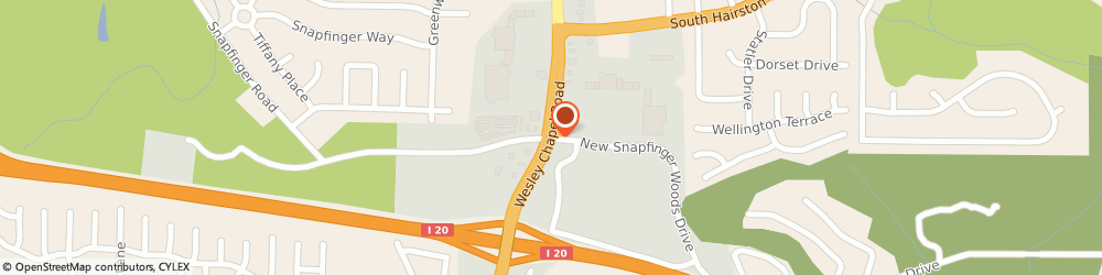 Route/map/directions to H & r Block Tax Svc, 30035 Decatur, 2496 WESLEY CHAPEL RD